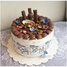 Babyshower Tones kaker og andre søte saker