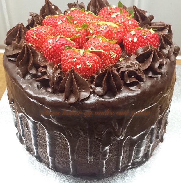 Reunion chocolate cake Tones kaker og andre søte saker
