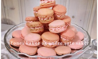 Makroner Tones kaker og andre søte saker