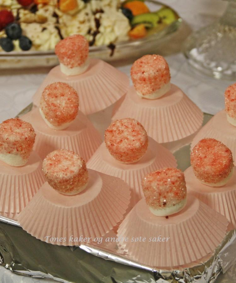 Marshmellows ballerinas Tones kaker og andre søte saker