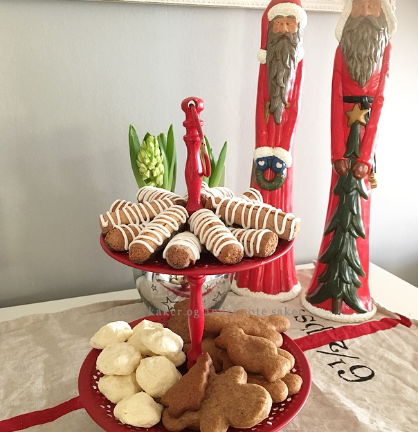 Julebakst Tones kaker og andre søte saker