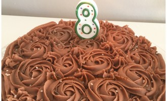 Bursdagskake Tones kaker og andre søte saker