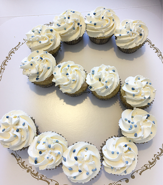Bursdag cupcakes Tones kaker og andre søte saker
